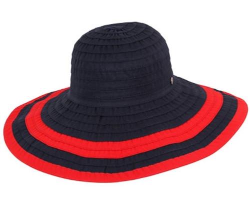 Kooringal - Marina Wide Brim Navy/Red Style