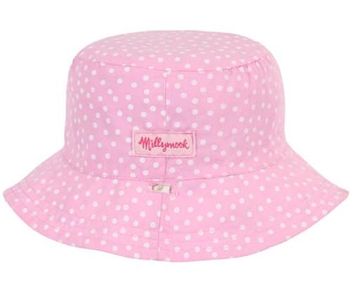 Kooringal - Baby Vintage Floral Bucket Hat Reversed
