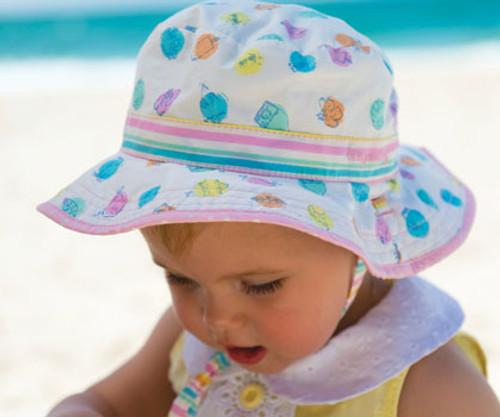 Baby Girls Sandy Bucket Hat