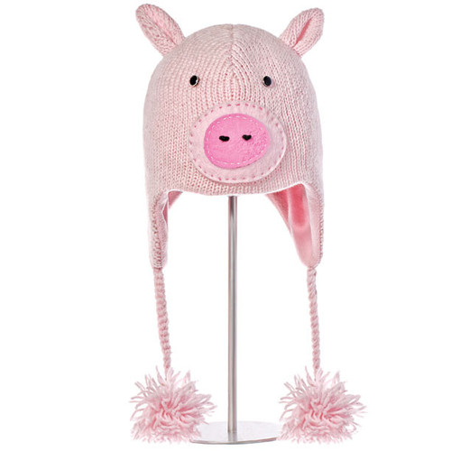 Knitwits - Peaches the Pig hat
