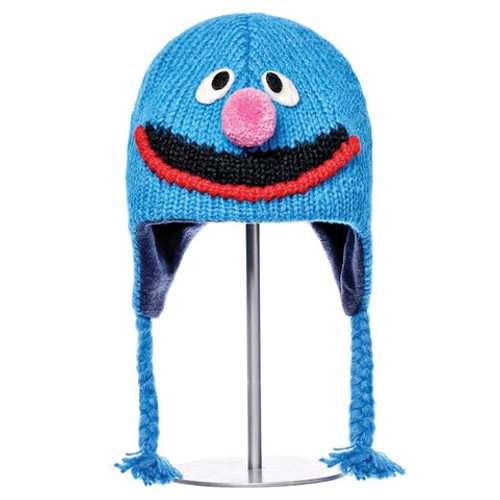 Knitwits - Sesame Street Grover Hat
