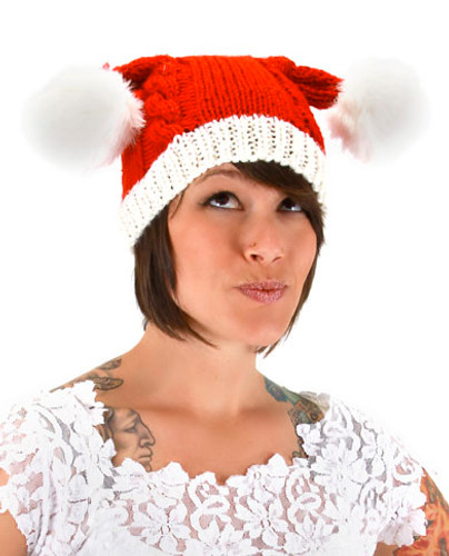 Elope - Knit Santa Hat
