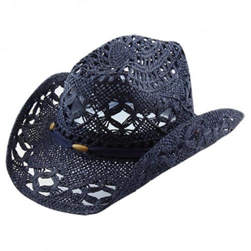 California Hat Company - Navy Cowboy Hat