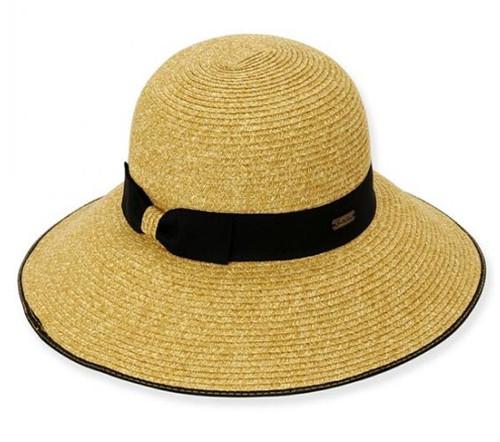 Sun 'N' Sand - Ambia Black Sun hat