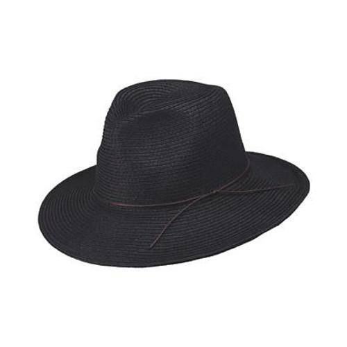 Peter Grimm - Tavin Black Safari Fedora Hat