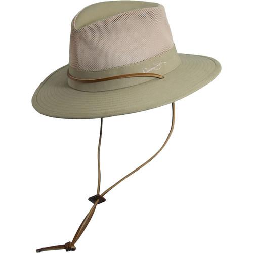 Panama Jack - Mesh Safari Hat with Drawstring