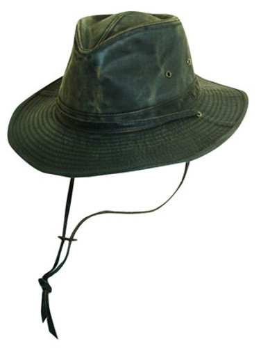 Dorfman Pacific - Weathered Cotton Outback Hat