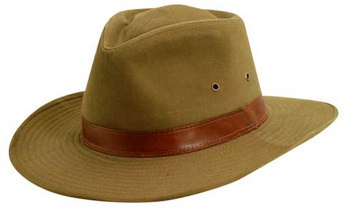 Dorfman Pacific - Twill Outback Hat