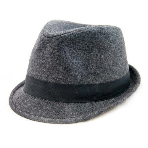 Kooringal - Classic Flannel Grey Fedora Hat