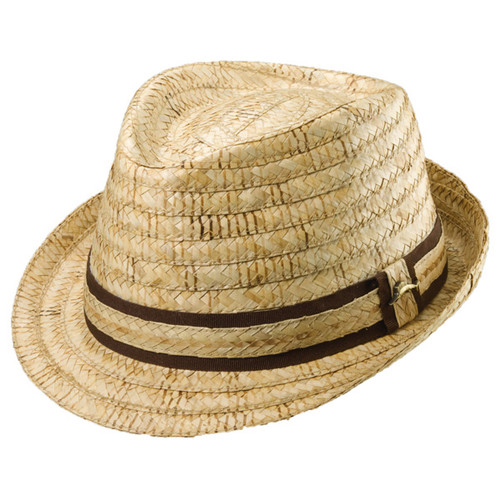 Tommy Bahama - Burl Braid Fedora Hat
