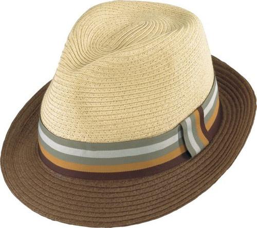 Henschel - Gentleman Two Tone Fedora Hat