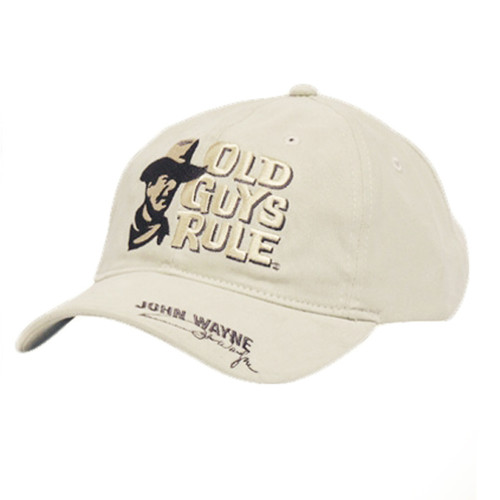 Old Guys Rule - A Mans Got To Do Cap