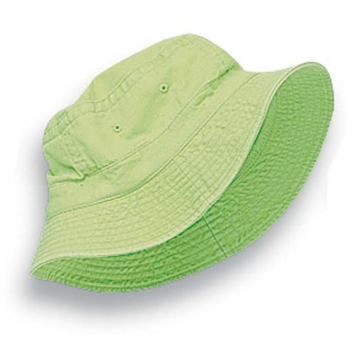 Adams - Lime Vacationer Dyed Bucket Hat