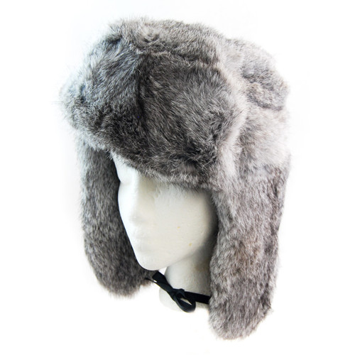 Sterling - Main Rabbit Fur Russian Trapper Hat