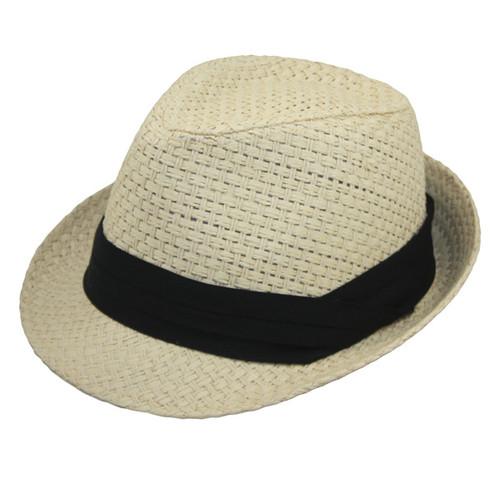 Jeanne Simmons - Ivory Unisex Toyo Fedora Hat