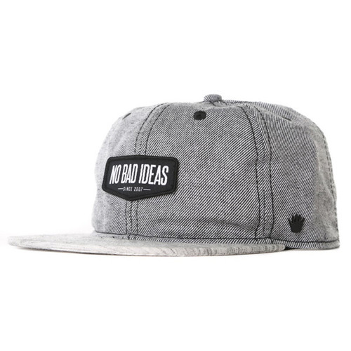 No Bad Ideas - Harper Slouchie Strapback Cap Main