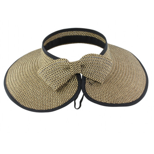 California Hat Company - Rolled Visor with Bow