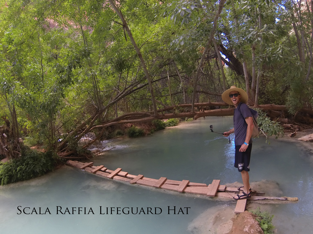 Scala Raffia Lifeguard Hat