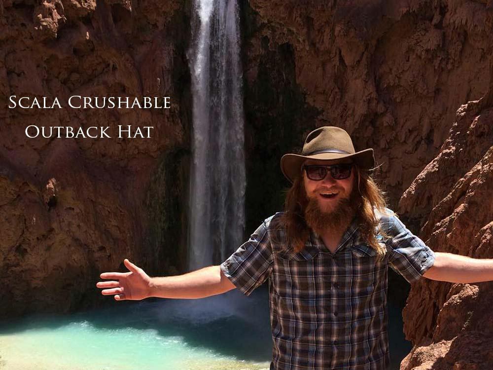 Scala Crushable Outback Hat