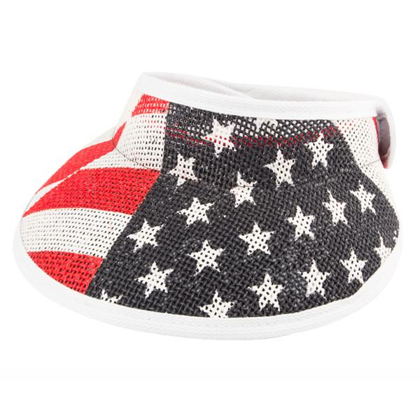 Peter Grimm - Emily American Flag Visor Hat