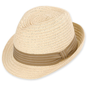 Sun 'N' Sand - Natural Swift Toyo Fedora Hat