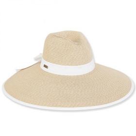 """Sun 'N' Sand - Arashi 6"""" Brim Sun Hat"""