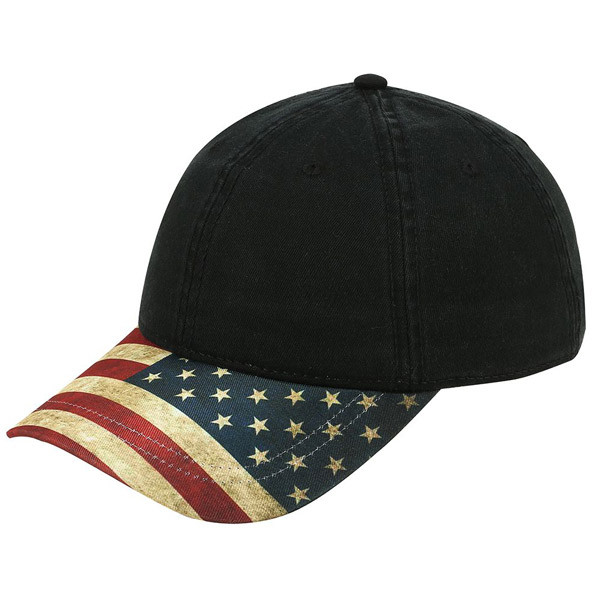 Otto Cap - Vintage American Flag Baseball Hat - Main