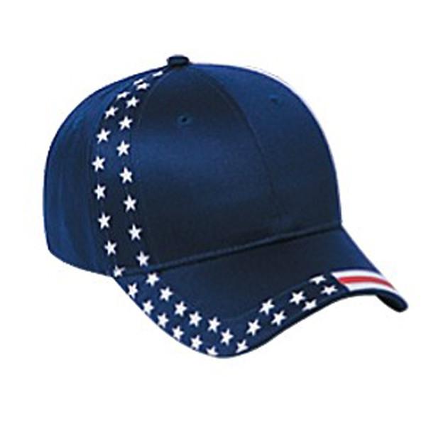 Otto Cap - American Flag Strapback Cap