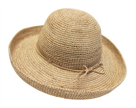 Dynamic Asia - Raffia Kettle Brim Hat