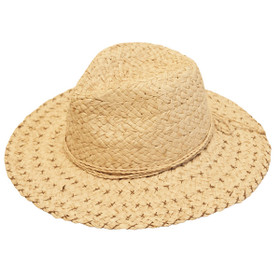 Dynamic Asia - Raffia Fedora Hat