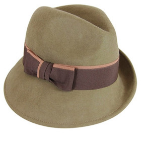 Downtown Style - Asymmetrical Fedora Hat