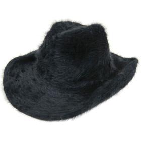 Downtown Style - Black Angora Cowboy Hat