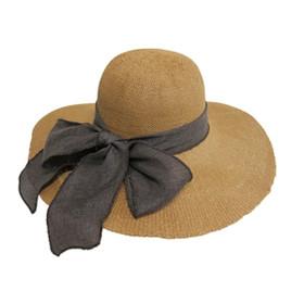 Boardwalk Style - Textured Toyo Straw Sun Hat