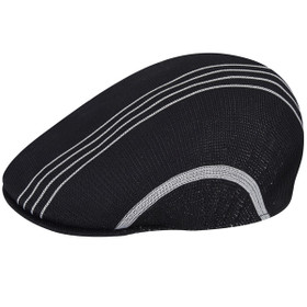 Kangol - Black Multi Stripe 507 Cap Main