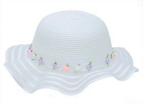 Boardwalk Style - Flower Girl Hat