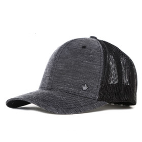 No Bad Ideas Oladipo Mesh Flex Hat in Grey - Back View
