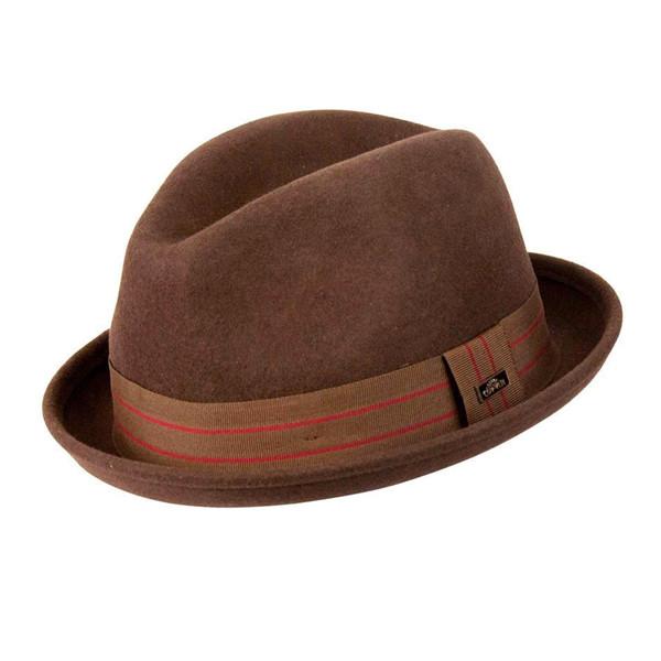 Conner - Merlo Kicker Fedora Hat - Full View