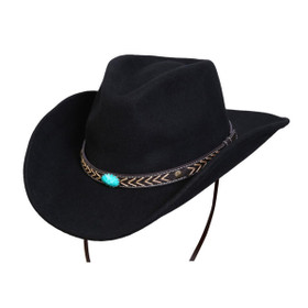 Conner - White Cliffs Western Hat - Full View