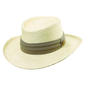 Tommy - Bahama Tropical Dress Gambler Hat in Taupe