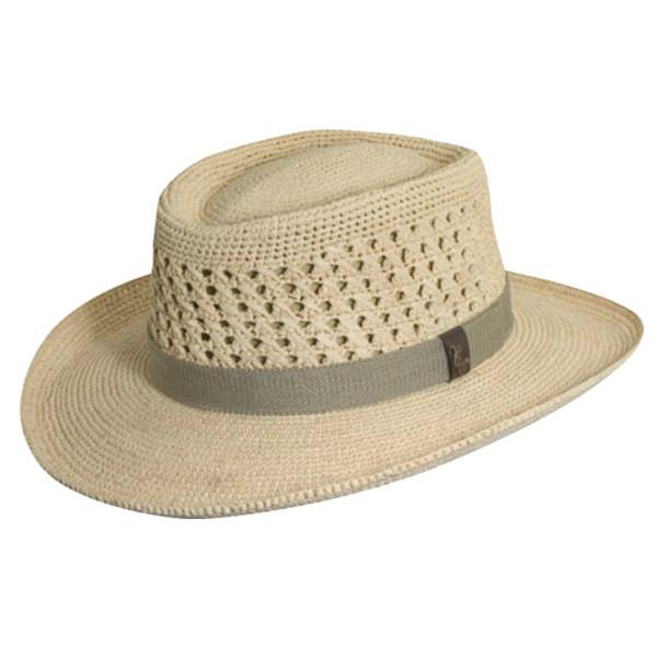 Scala - Crochet Golf Gambler Hat
