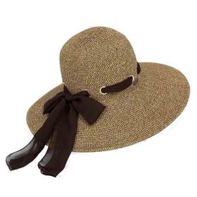 Sun 'N' Sand - Jossie Chiffon Sun Hat - Brown