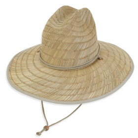 Sun 'N' Sand - LifeGuard Rush Straw Hat in Natural