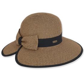 Sun 'N' Sand - Braided Short Back Hat in Black
