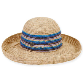 Sun 'N' Sand - Perla Crocheted Up-Brim Hat