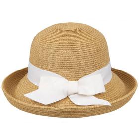 Karen Keith - Braided Short Up-Brim Hat