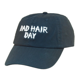 Dorfman Pacific - Bad Hair Day Script Baseball Cap - Full View