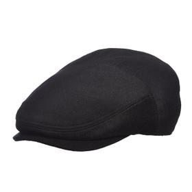 Stetson - Cashmere Blend Ivy Flat Cap in Black