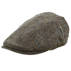 Stetson - Harris Tweed Ivy Cap - Full View