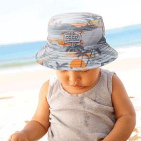 Kooringal - Baby Hawaiian Bucket Hat Model