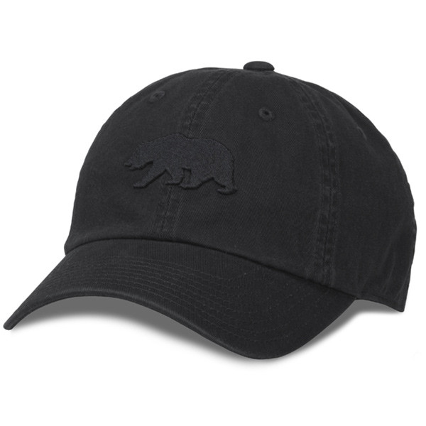 American Needle - Cali Cap Baseball Hat Black